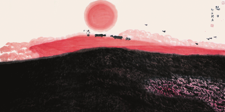 邱汉桥绘画艺术天人合一的精神追求