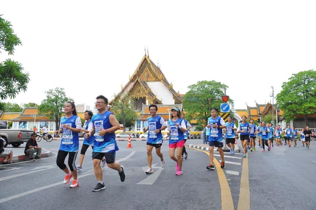 出国跑马首选赛事:曼谷马拉松!比去三亚还便宜!消费低美食多!