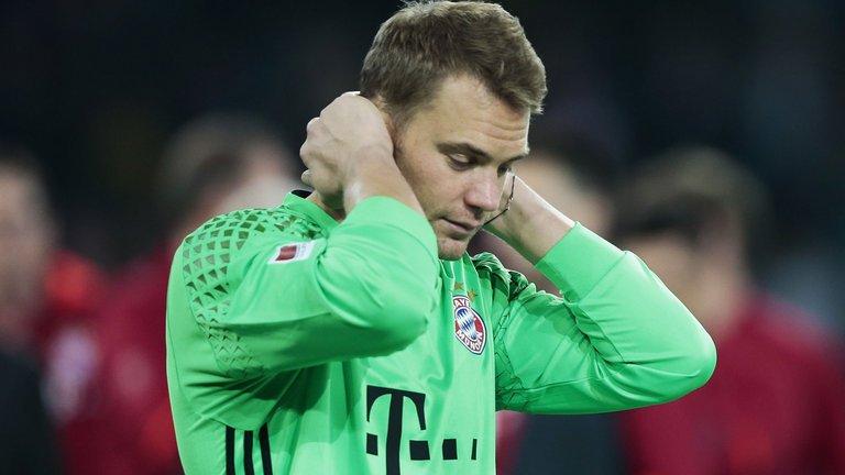 海帅:诺伊尔无缘德国杯决赛 德国领队:会等他