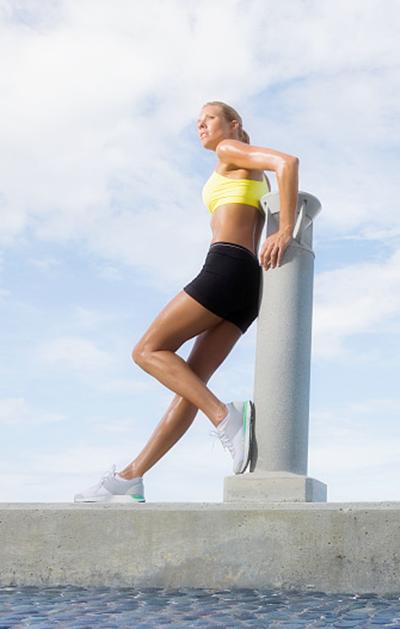 怎么减肥肚子和腿锻炼方法图片