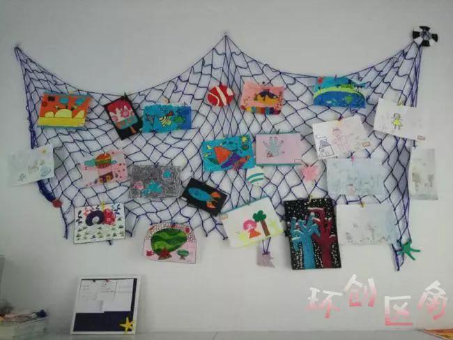 60张幼儿园海洋风环创图片,大有用处,教师速速收藏!