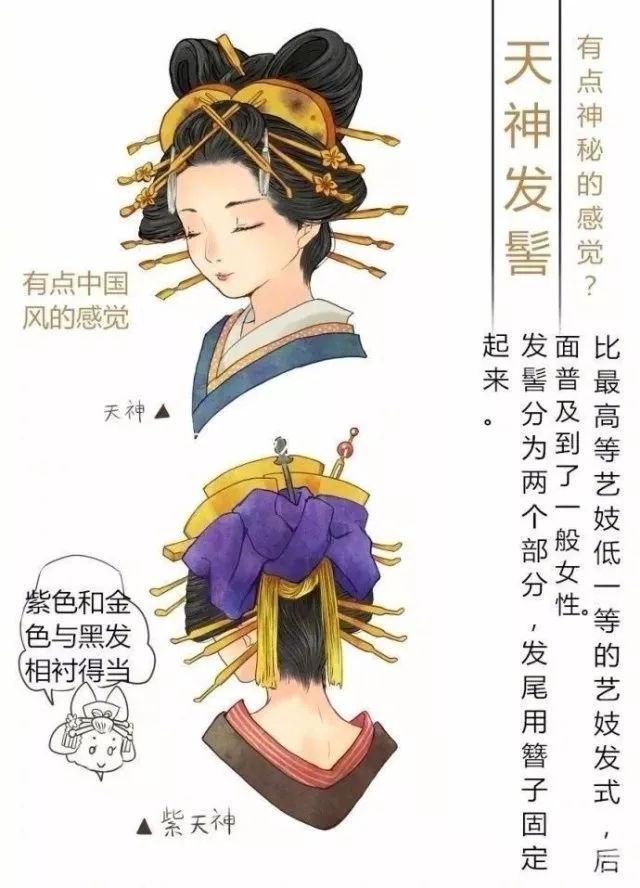一大波图带你了解日本艺妓的发型.图片