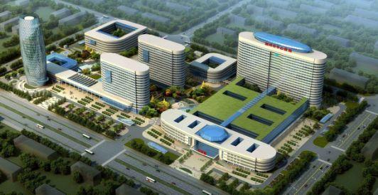 湖北荆州中心医院荆北新院(一期)工程