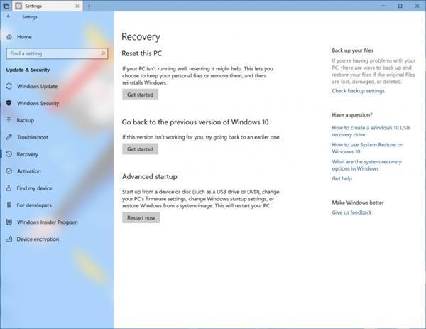微软向快速通道会员推送Win10 RS5新版17666(6)