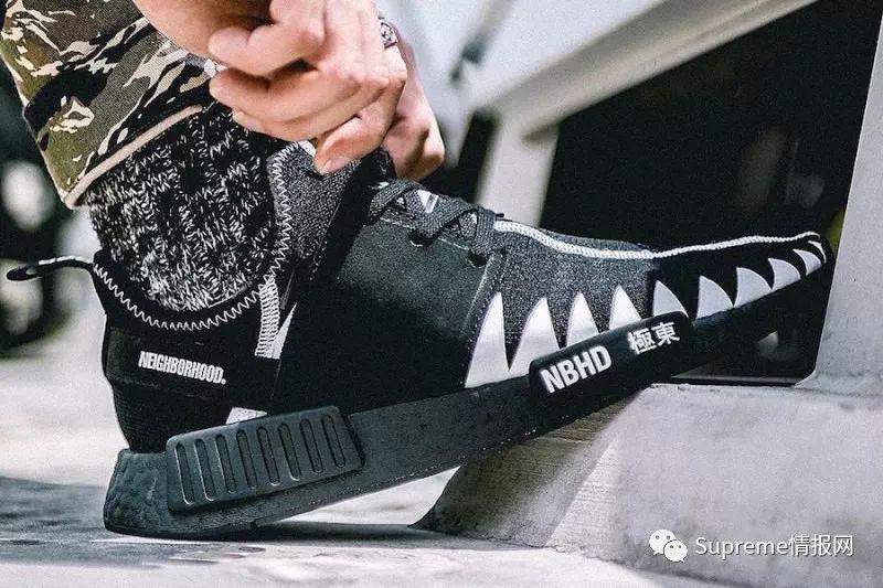 泽无码_【发售预警】adidas x nbhd全新联名鞋曝光,实物无码大图!