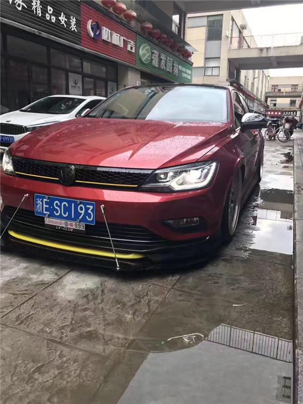 大众凌度改装气动避震案例_搜狐汽车_搜狐网图片