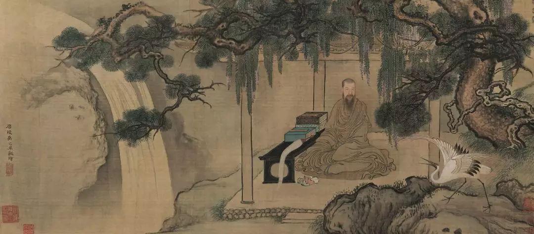 明月松间照 松美术馆大展 中国古代绘画中的松