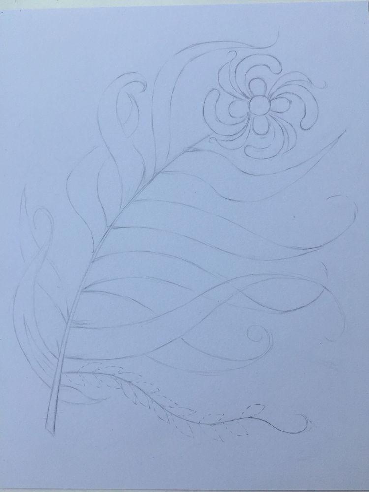 绘画教程,这样的凤尾花世间有吗