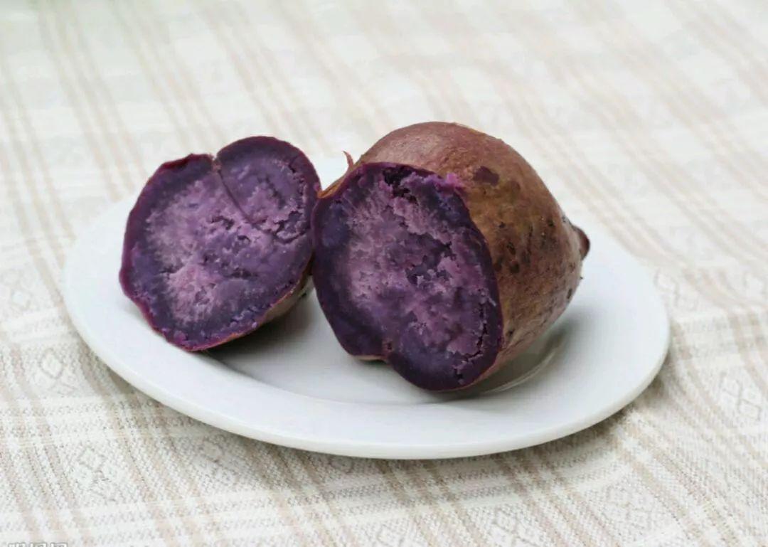 紫薯里面的紫色是什么