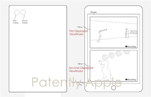 彻底玩转手机拍照!苹果全新专利曝光:能让双
