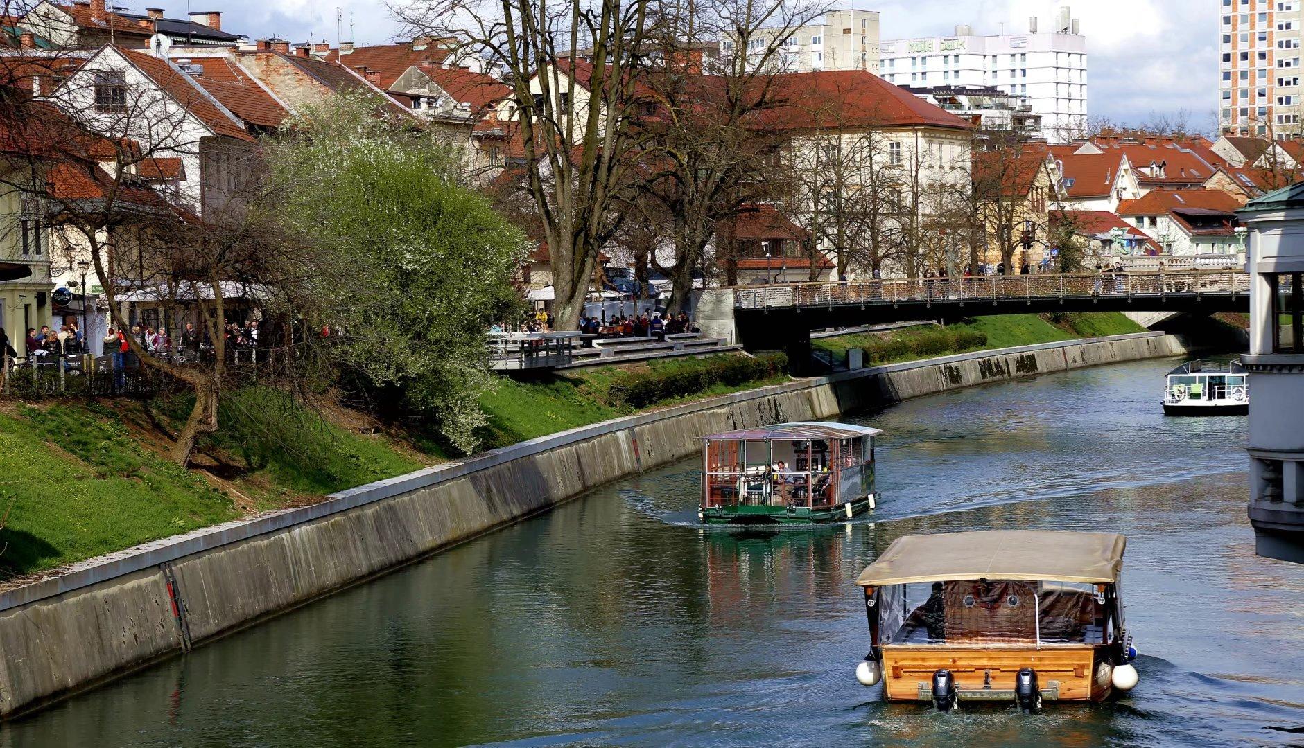 """卢布尔雅那释放着欧洲城市""""小家碧玉""""的情怀"""