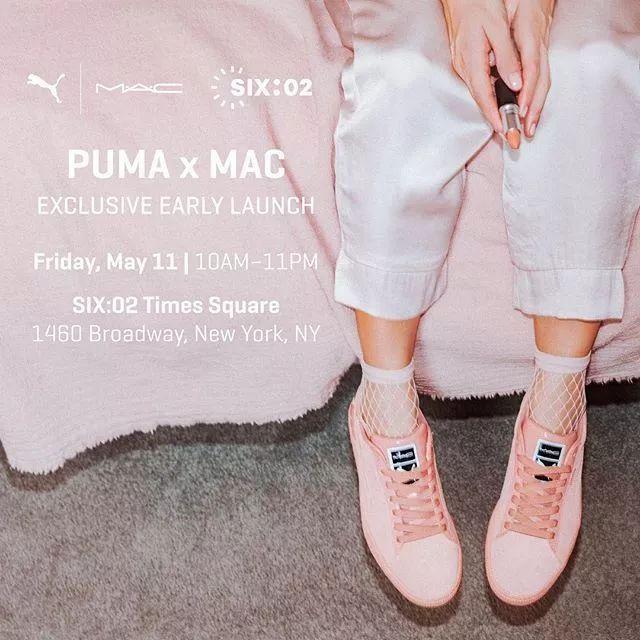 4c58e84136d M.A.C.×PUMA联名款发售,满意的让小编我露出姨母笑~
