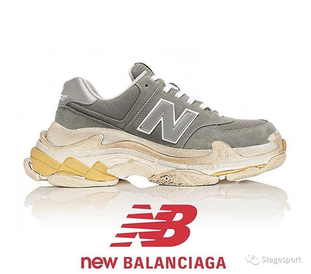 new balance x balenciaga