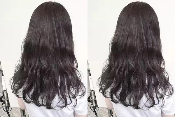 时尚 正文  看腻了大波浪卷发不如试试流行又时尚的水波纹烫发,中长发