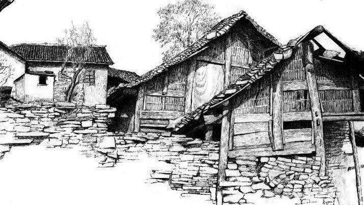 《黑白画意:自然风景写生与创意教程》素手绘制心中自然美景