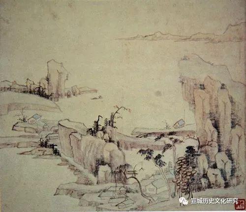宣城画派的先导人物——宣城画派研究之六