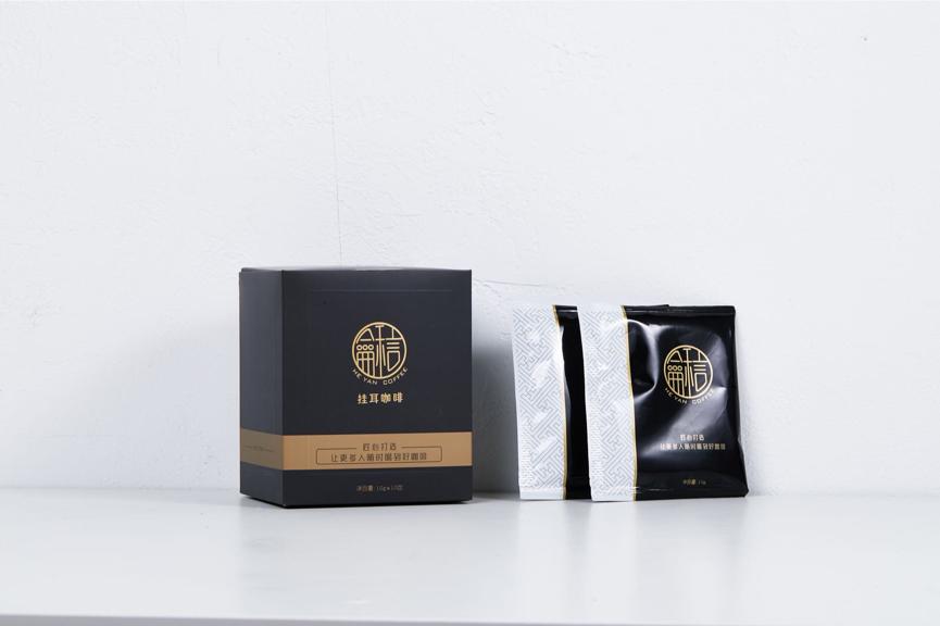 小米有品5月12日上线了首款挂耳咖啡——龢言挂耳咖啡