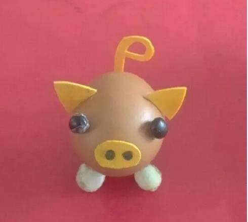 【小猪佩奇】各种材料制作的小猪,小猪佩奇吊饰手工萌
