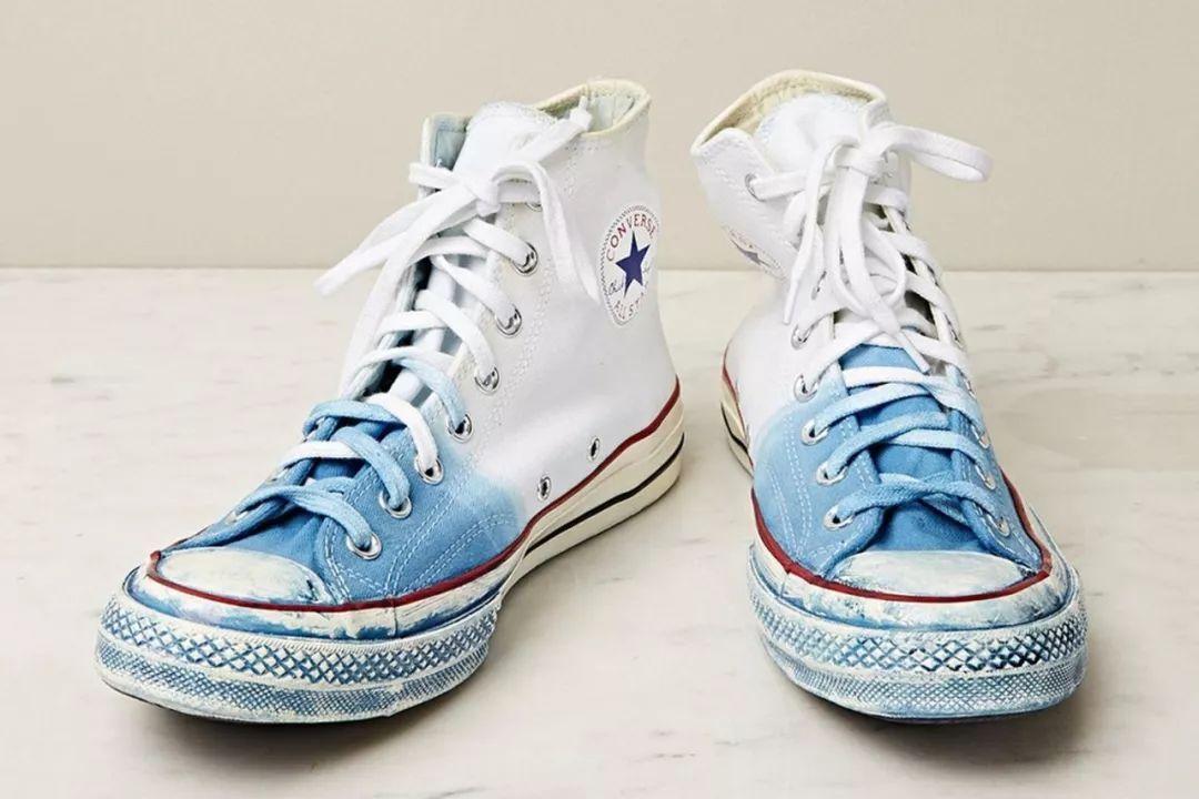 创意手绘diy小白鞋图案