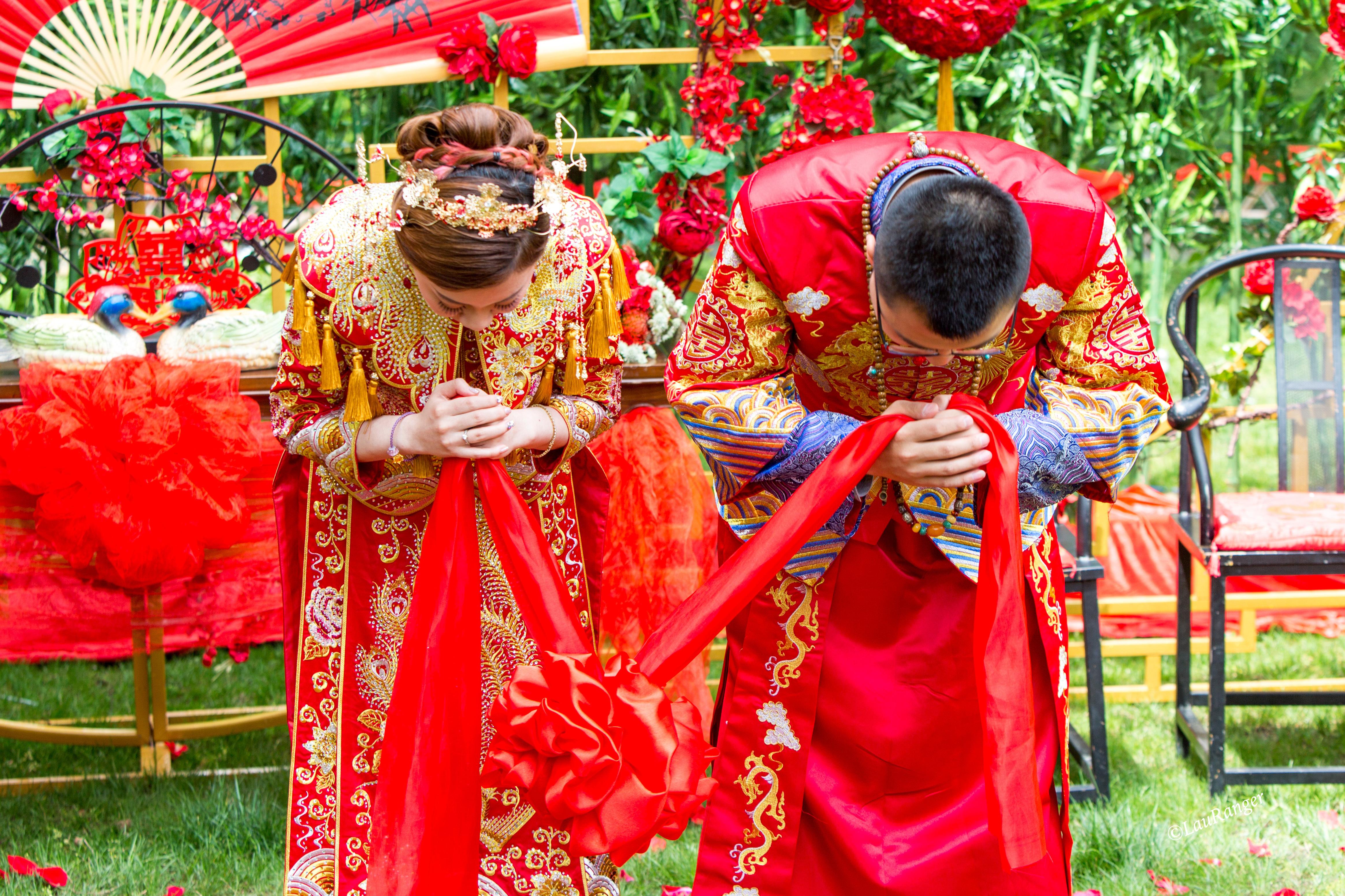 """""""大喜拙政园,新婚话家风"""",原来婚礼还能这么办。"""