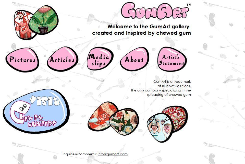 科技 正文  来源:798手绘网(id:shouhui798) 咀嚼完的口香糖,是一丢了
