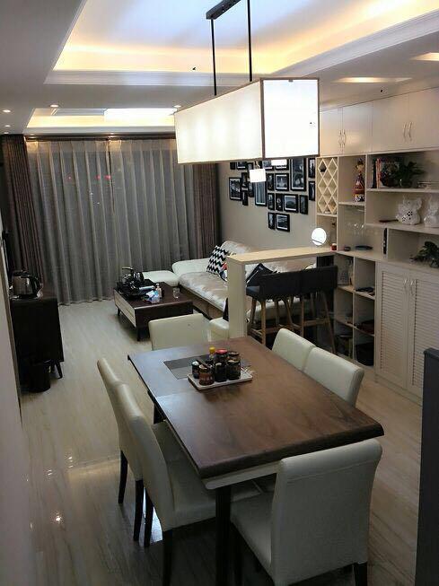 12万装修的简约风65平新房,为环保贴的全屋墙纸,效果还挺好看!