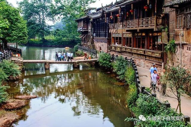 四川20个最美古村镇,标配的小桥流水古宅院,你去过几个!