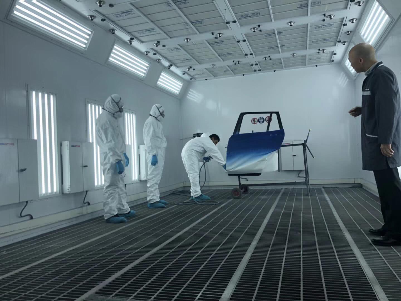 钣喷:昆明宝创首届BMW钣喷体验之旅欢悦落幕