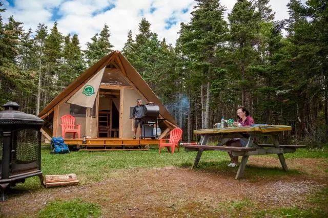 野外露营,动静皆宜