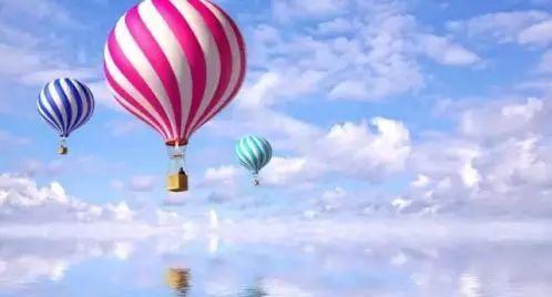原汁原味的 土耳其热气球 带来了句容 (非现场图) 红的,黄的,卡通的