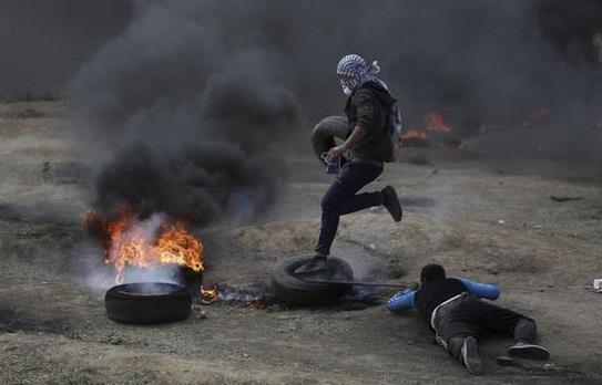 巴以冲突中东地�_中东发生巨变,巴以冲突再现,以色列狙击手登场