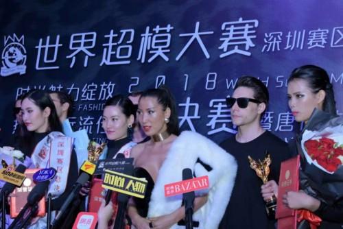 这场由时尚达人唐拉拉策划举办的2018世界超模大赛深圳赛区总决赛