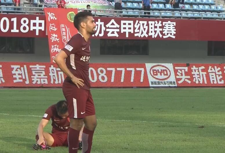 中甲综述-毅腾1-0新疆绿城0-2永昌延边2-3黄海