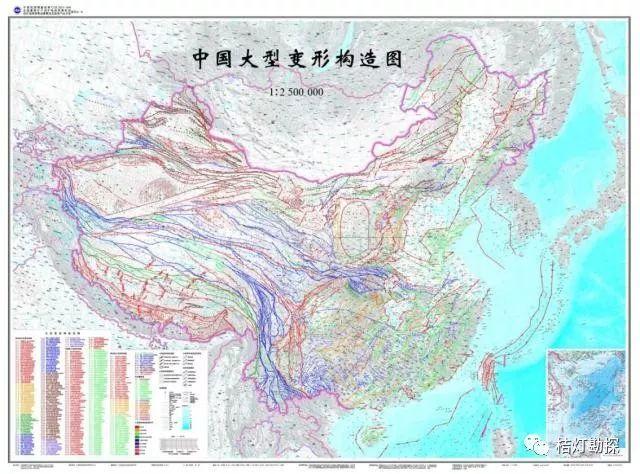 山东地震分布图_史上最全中国各类地质图集!