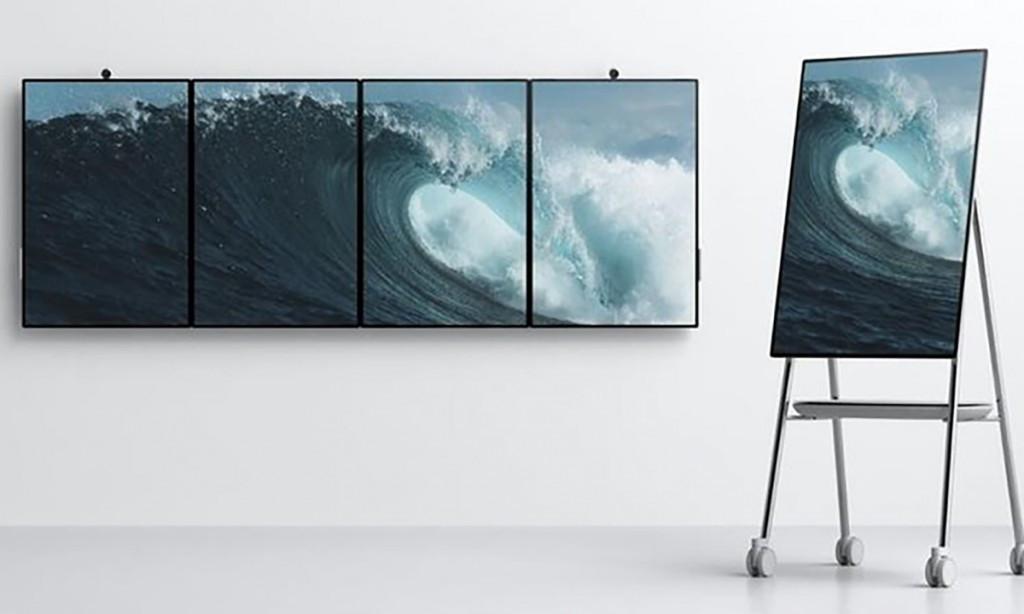 秒杀坚果TNT!微软发布二代Surface Hub:50英寸4K屏开会神器