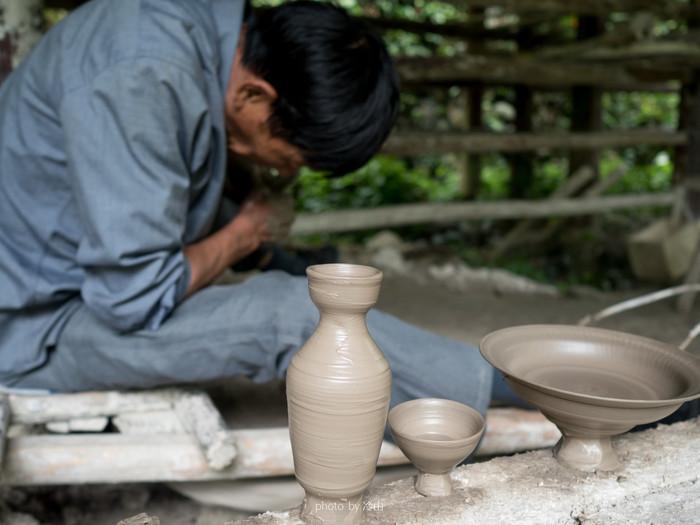 苍南的小山村,是瓷的博物馆