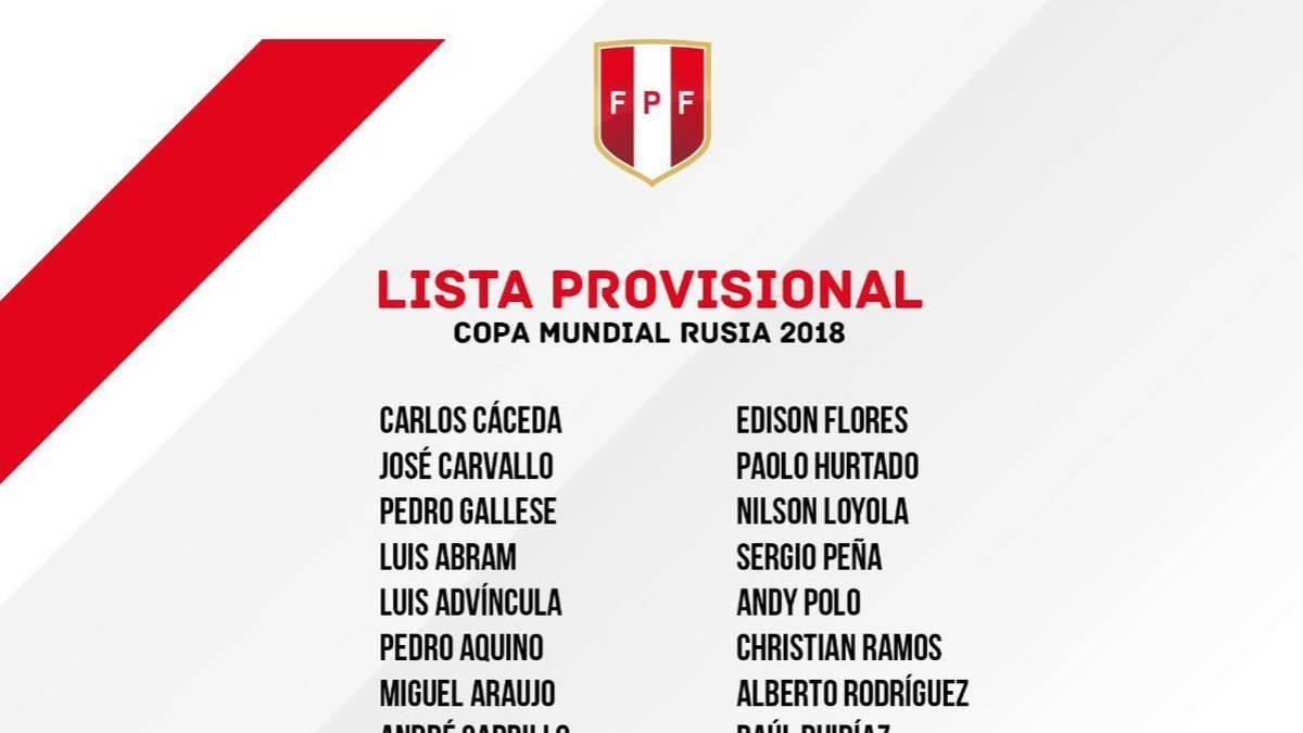 秘鲁24人名单:皮萨罗格雷罗齐落选 法尔范领衔