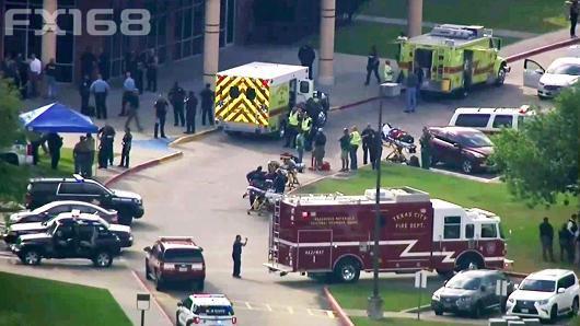 突发!得州高中发生枪击案 造成至少8人遇难多人受伤