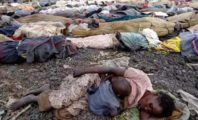 卢旺达大屠杀疑犯死亡