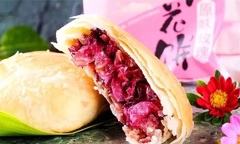 云南鲜花饼 鲜花饼的做法 正宗鲜花饼 玫瑰花饼的做法 鲜花饼图片