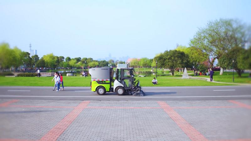 获软银1.35亿元B轮,COWAROBOT推可商业落地的无人驾驶扫地车