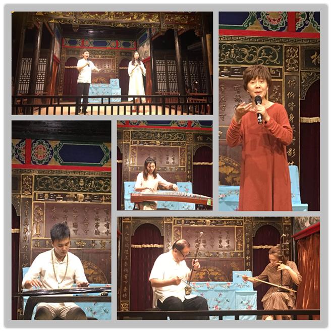 中国古筝艺术因外交封结缘中国昆曲艺术