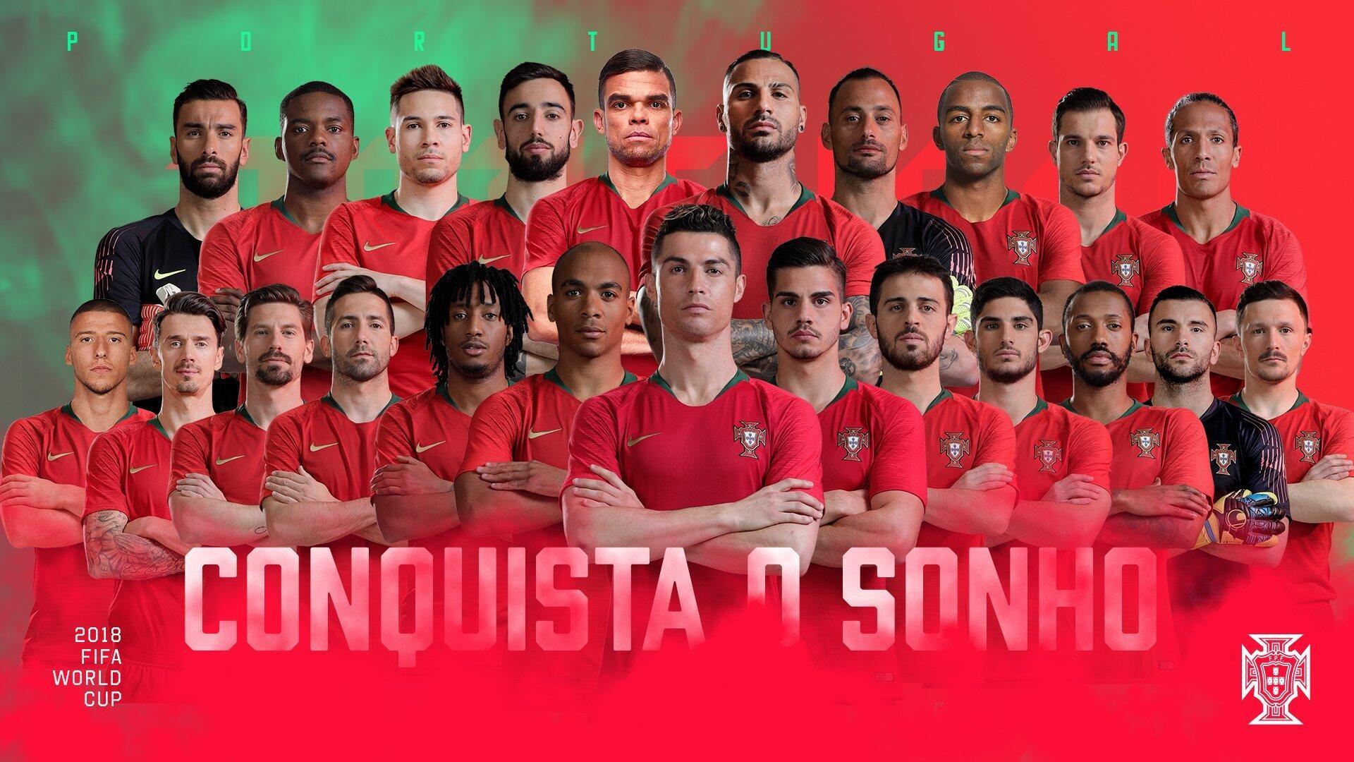 葡萄牙23人名单:C罗佩佩领衔 中超铁卫仍入选