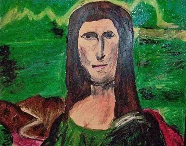 """博物馆       ▲ 男版""""蒙娜丽莎""""   总之,来到糟糕艺术博物馆的人可能图片"""