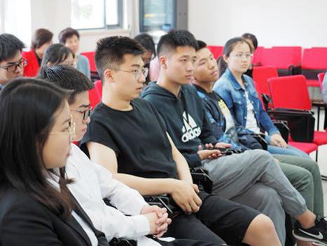 泽稷教育董事长蒋望受邀出席上财商学院百行百味之职业规划思享汇