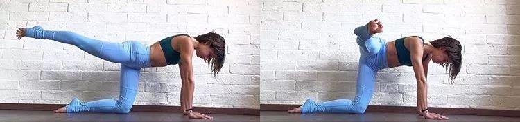 瑜伽骑马式的讲解图片