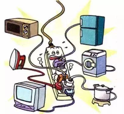 勿超负荷使用电器.