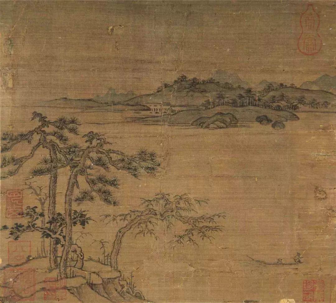 明月松间照 中国古代绘画中的 松 JYZ 展览推荐