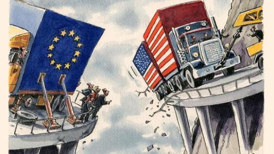 """美国隔山打牛欧洲很受伤:""""西方作为一个整体已不复存在""""!"""