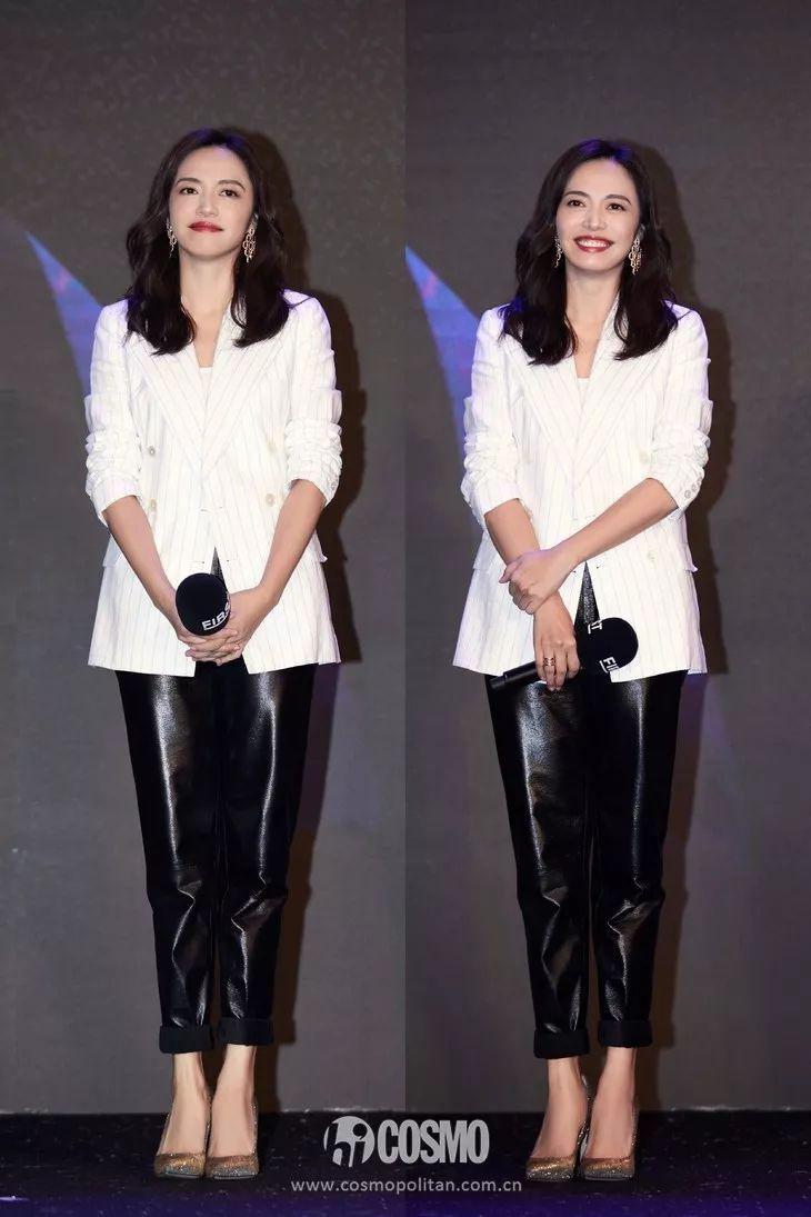 星装研究所丨王丽坤的大长腿真不是盖的,但赵丽颖的纱裙赢更大!